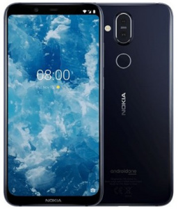 Nokia 8.1 (Phoenix) 2019 DS Blue - Silver (dualSIM) 64GB/ 4GB Android 9.0