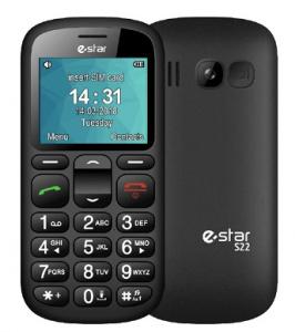 eSTAR S22 Single SIM gsm tel. Black