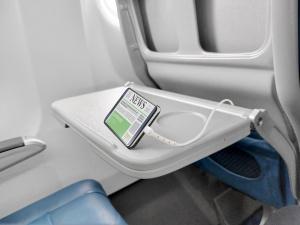 USB datový kabel Cellularline Vista s konektorem Apple Lightning a funkcí stojánku, MFI certifikace, 120 cm, bílý