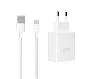 Nab.cestovní Huawei CP84 USB 4A + kabel USB-C, Quick Charge, bílá