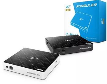 FORMULER Z7+ 5G Black 4K UHD IPTV Android Media Player H.265 HEVC