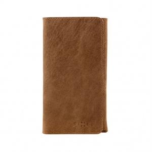 Kožené pouzdro FIXED Pocket Book pro Apple iPhone XR, hnědé