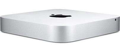 PC Apple Mac mini Silver  i5 2,6GHz / 8GB / 1TB (2014) Intel Iris Graphics