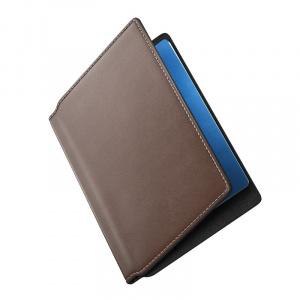 Nomad Passport Wallet Modern, brown