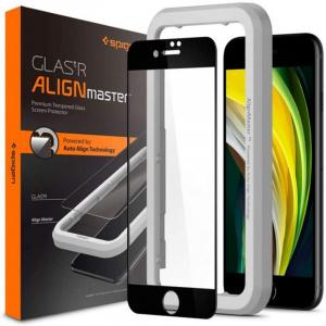 Spigen AlignMaster FC, black - iPhone SE 2020/8/7