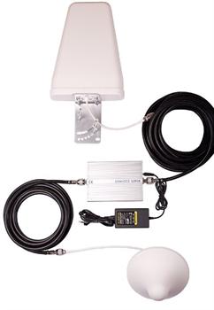 Tesla GSM-LTE zesilovač/opakovač 900/1800 MHz - kompletní sada