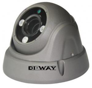 DI-WAY AHD anti-vandal venkovní dome IR kamera 720P, 2,8-12mm, 30m, 3x Array