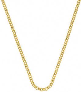 Stříbrný řetízek Emozioni Yellow Gold Belcher Chain 18 CH010