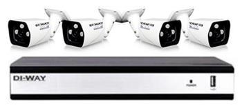 Zvýhodněný set: DI-WAY AHD 2+2+1 kamerový systém