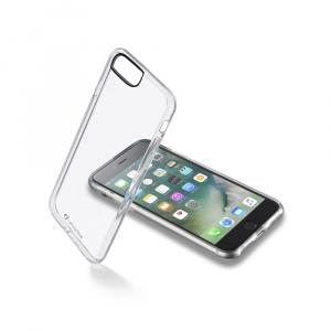 Zadní čirý kryt s ochranným rámečkem Cellularline CLEAR DUO pro Apple iPhone 7 Plus/8 Plus