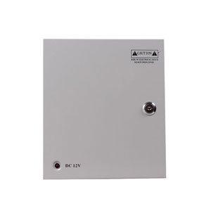 Napájecí skříňka,rozvaděč 12V/5A pro CCTV kamery