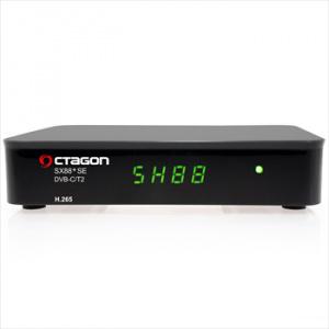 OCTAGON SX88 DVB-C/T2+IP H.265 HEVC HD
