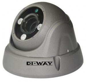 DI-WAY AHD anti-vandal venkovní dome IR kamera 720P, 2,8-12mm, 30 m ,4in1 AHD/TVI/CVI/CVBS