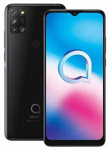 "Alcatel 3X 2020 (5061K) Jewelry Black (dualSIM) 6,52"", 64GB/4GB"