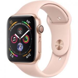 Hodinky Apple Watch Series 4 44mm Rose Gold Aluminium - Light Pink Sport pásek 2018