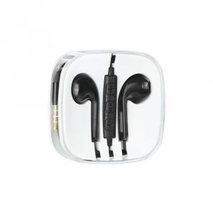 Hands Free MEGA Bass micro USB Typ C barva černá