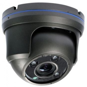 DI-WAY HDCVI venkovní Varifocal dome IR kamera 720P, 2,8-12mm, 3xArray, 40m