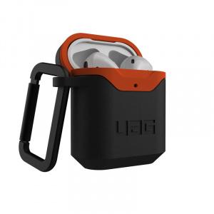 UAG Hard case, black/orange - AirPods