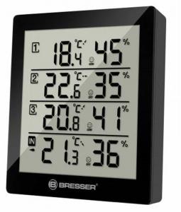 Bresser Temeo Hygro Quadro Weather Station-black