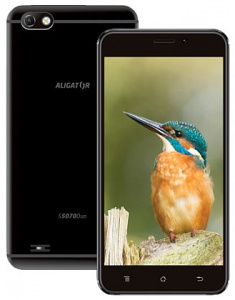 Aligátor S5070 DUO Black (dualSIM) 16GB/1GB