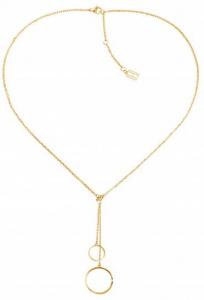 Moderní pozlacený náhrdelník TH2780151