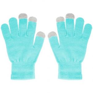 Rukavice pro dotykové LCD barva modrá