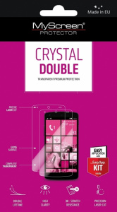 OCHRANNÁ FÓLIE NA DISPLEJ MYSCREEN CRYSTAL DOUBLE  EASY APP KIT ALCATEL POP C5