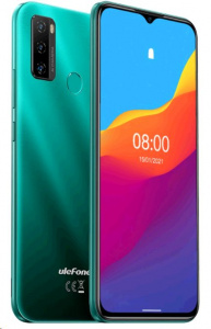 UleFone Note 10 2+32GB DS gsm tel. Android 11 Aurora Green