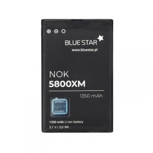 Baterie BlueStar Nokia 5800, 520, 525 Lumia, 5230, N900 C3-00 (BL-5J). 1350 mAh li-ion
