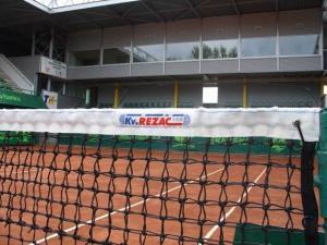 Síť tenisová zdvojená