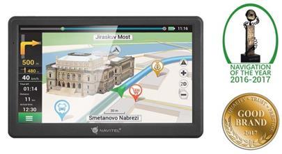 "navigace GPS do auta Navitel MS700, 7"" offline mapy, LIFETIME (ČR,SK,KZ,RU, EU země)"