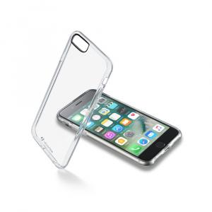 Zadní čirý kryt s ochranným rámečkem Cellularline CLEAR DUO pro Apple iPhone 7/8