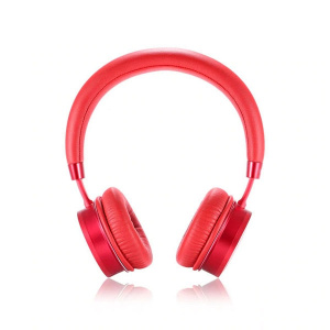Bluetooth headset REMAX RB-520 HB, barva červená