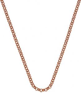 Stříbrný řetízek Emozioni Rose Gold Belcher 45 CH013
