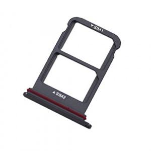Držák (šuplík) SIM Huawei MATE 20  černá