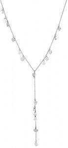 Ocelový náhrdelník se srdíčky a hvězdičkami LJ1408