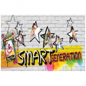 SMART GENERATION - regálový banner 99x45cm