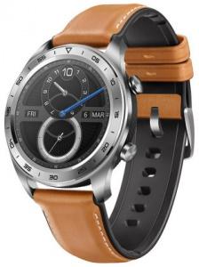 Hodinky Honor Watch Magic Silver s koženým řemínkem (TLS-B19)