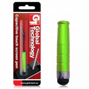 Dotykové pero (stylus) kapacitní RING barva zelená