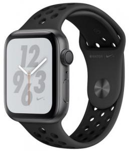 Hodinky Apple Watch Nike+ Series 4 40mm Space Grey Aluminium - Black Sport pásek 2018