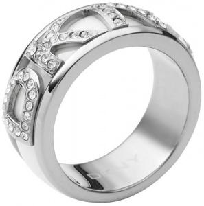 Prsten s krystalovým nápisem NJ1841040