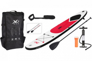 Paddleboard XQ MAX SUP 305 - RED VULCANO SET