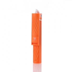 Selfie držák REMAX XT-P02 Mini 3,5 jack barva oranžová