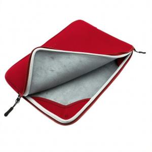 """Neoprénové pouzdro FIXED Sleeve pro notebooky o úhlopříčce do 13"""", červené"""