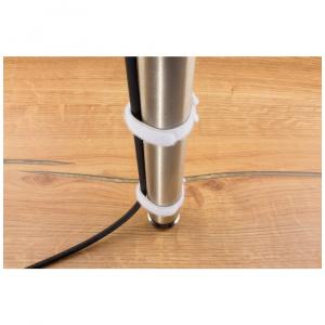 Kabelový organizér Cable Candy Hook&Loop, 8ks, černý