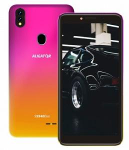 Aligátor S5540 DUO Pink-Gold (dualSIM) 32GB/2GB
