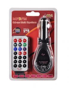 Transmitér FM MP3 CMP05 USB, microSD, SD slot