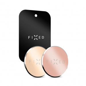 Sada 3ks plíšků FIXED Magnetto vhodných pro magnetické držáky, zlatá a růžovozlatá barva