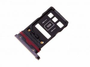 Držák (šuplík) SIM Huawei MATE 20 PRO černá