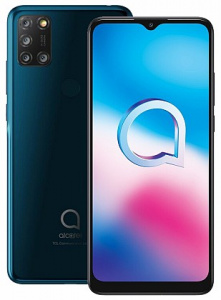 "Alcatel 3X 2020 (5061K) Jewelry Green (dualSIM) 6,52"", 64GB/4GB"